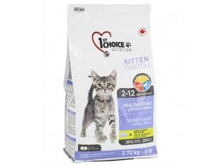 1st Choice (Фест Чойс) Kitten сухой корм для котят с курицей 2,72 кг