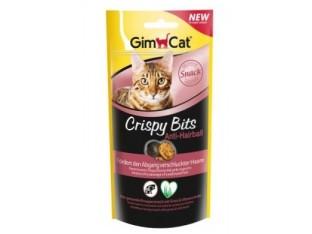 GimCat Crispy Bits Anti-Hairball мясные шарики для выведения шерсти 40гр