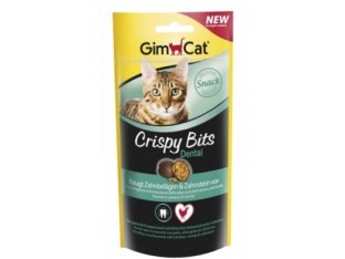 GimCat Crispy Bits Dental мясные шарики для зубов 40гр