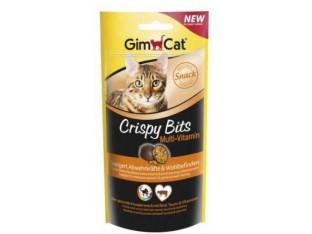 GimCat Crispy Bits Multi-Vitamin мясные шарики мультивитаминные 40гр
