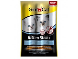GimCat Kitten Sticks мясные палочки для котят (3шт)