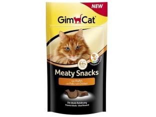 GimCat Meaty Snacks с курицей лакомство для кошек 35гр