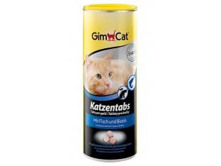 Gimpet Katzentabs витамины с рыбой для кошек 710шт.