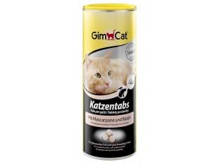 Gimpet Katzentabs витамины с сыром маскарпоне и биотином для кошек 710шт.