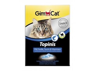 Gimpet Topinis с форелью и таурином витамины для кошек 190шт.