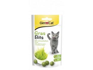 Gimpet GrasBits витамины с травой для кошек 65шт/40гр