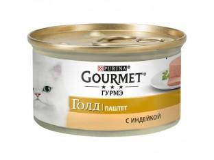 Gourmet Gold с индейкой паштет 85гр 85 гр.