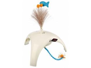 Игрушка для кошек 18x10x18см Feather Spinner Trixie 46012