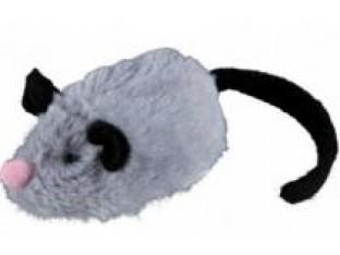Игрушка для кошек Мышь бегающая 8см Trixie 45796