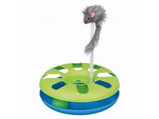 Игрушка для кошек Трек игровой с мышкой Crazy Circle 24x29см Trixie 4135