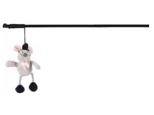 Игрушка для кошек Удочка с мышкой 31см Trixie 45803