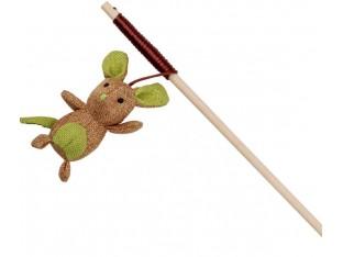 Игрушка для кошек Удочка с мышкой 40см Trixie 45751