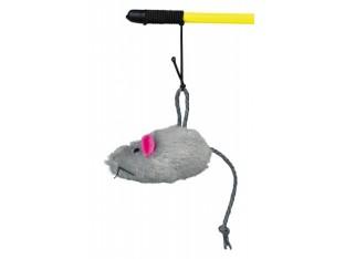 Игрушка для кошек Удочка с мышкой 50см Trixie 4105