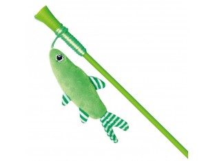 Игрушка для кошек Удочка с рыбкой 42см Trixie 45742
