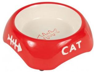 Керамическая миска для котов Trixie 24498 0,2л/13см