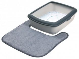 Коврик для кошачьего туалета (плюш) 50x50см Trixie 40232