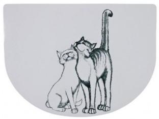 """Коврик под миску """"Pussycat"""" Trixie 24540"""