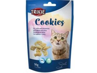Лакомство для кошек Cookies 50гр Trixie 42743