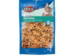 Лакомство для кошек Dentinos Denta Fun 50гр Trixie 4266