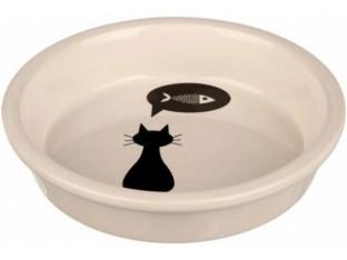 Миска для кошек 0,25л/13см Trixie 24499