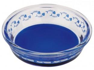 Миска для кошек (стекло) 0,3л/14см Trixie 24800