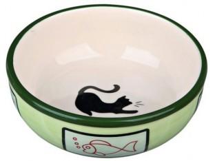 Миска керамическая для кошек 0,35л/13см Trixie 24658