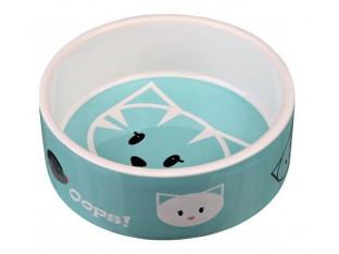 Миска керамическая для кошек 0,3л/12см Mimi Trixie 24650