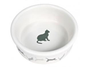 Миска керамическая для кошек 250мл/11см Trixie 4019