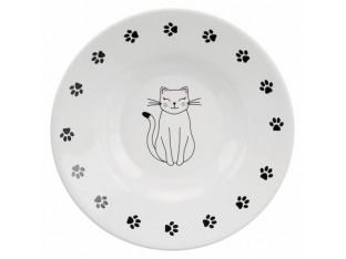 Миска керамическая для кошек плоскомордых пород 0,2л/15см Trixie 24651