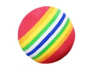 Мячик радужный (резина) для кошек 4см Trixie 4097 1шт