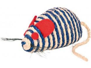 Мышь для кошек сизалевая 10см Trixie 4074