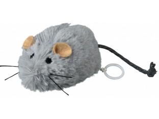 Мышь заводная (плюш) 8см Trixie 4083