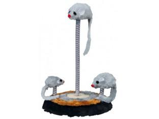 Мышки на пружинках и подставке 15x22см Trixie 4070