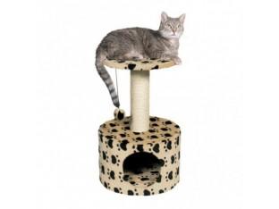 Домик-когтеточка для кошек Toledo 39x61см Trixie 43704 бежевая