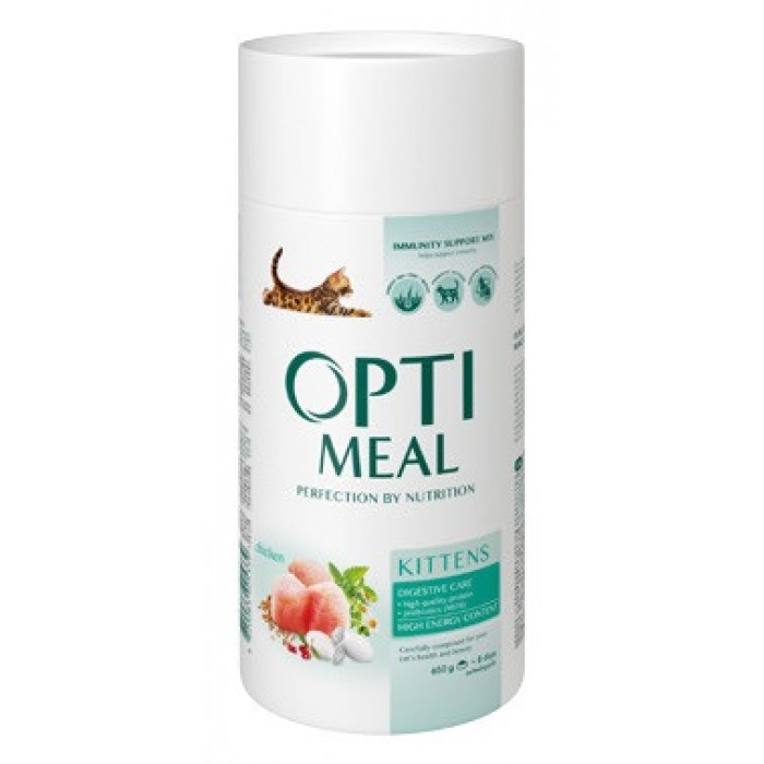 Optimeal для котят с курицей  4 кг