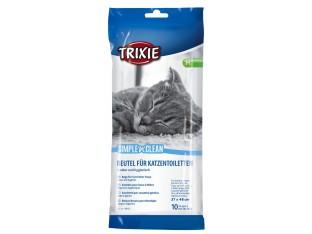 Пакеты уборочные для кошачьих туалетов (10шт) Trixie 4051 56x71см