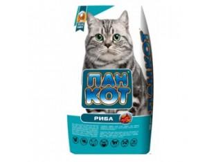 Пан Кот Рыба корм для взрослых кошек 10 кг