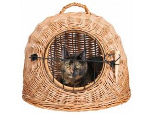 Переноска плетеная для кошек Trixie 2871 50см