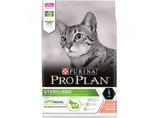 Pro Plan Sterilised с лососем для стерилизованных кошек 10 кг