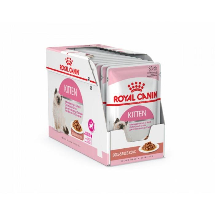 Royal Canin Kitten Instinctive in gravy консервы 12шт