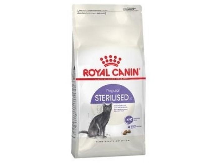 Royal Canin Sterilised корм для стерилизованных кошек от 1 до 7 лет 400 гр.