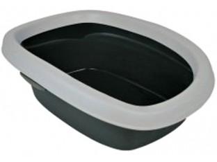 Туалет для кошек с бортиком Carlo Trixie 40111 31x14x43см
