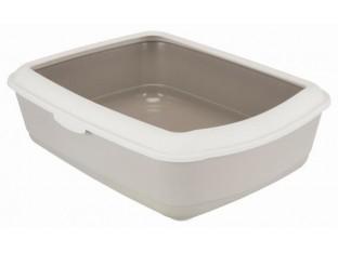"""Туалет для кота """"Classic"""" Trixie 40315 серый/коричневый"""