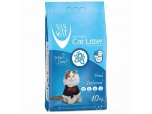 VanCat Fresh (ВанКэт) бентонитовый  наполнитель для туалета кошек 10 кг