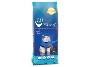 VanCat Natural (ВанКэт) бентонитовый наполнитель для туалета кошек 20 кг