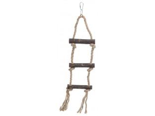 Лесенка верёвочная для птиц 40см Trixie 5186