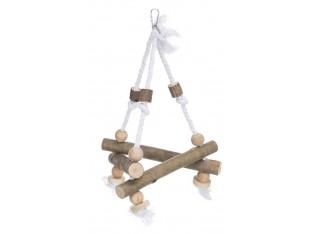 Качели на верёвке для птиц 27х27x27см Trixie 5883