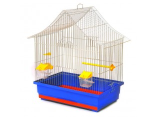 "Клетка для птиц ""Алиса"" К058 48x31x54см. оцин."