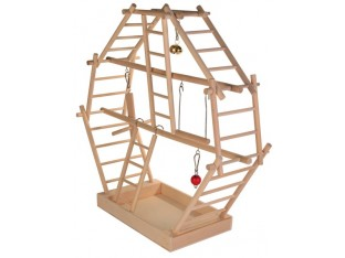 Игровая площадка для попугаев 44x44x16см. Trixie 5659