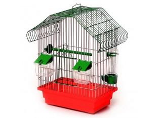 """Клетка для птиц """"Малый Китай"""" К040 28x18x40см. оцин."""